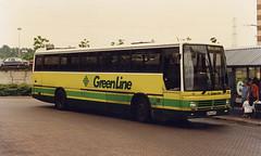 County-TDL54-C254SPC-Lakeside-080696b (Michael Wadman) Tags: tdl54 lakeside lcbs londoncountry londoncountrybusservices leylandtiger countybusandcoach c254spc