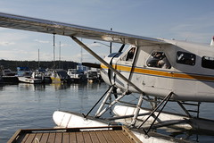 A dream come true (Camusi) Tags: lake canada water flying eau north wing lac nwt beaver northwestterritories oldtown takeoff tno floats nord avion yellowknife floatplane hydravion northof60 yellowknifebay ahmicair baiedeyellowknife yellowknifetour