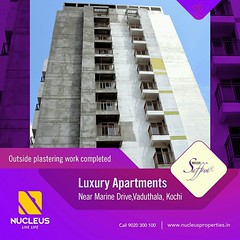 We are pleased to inform that the works of Nucleus Saffron is going on in full swing at Vaduthala near Marine Drive.  Visit us on www.nucleusproperties.in   #Kerala #Kochi #India #LuxuryHomes #Architecture #Home #Construction #City #Elegance #Environment (nucleusproperties) Tags: life beautiful house kochi elegant style kerala realestate lifestyle india luxury comfort apartment nature architecture luxuryhomes interior gorgeous design elegance environment beauty building exquisite view city construction atmosphere home living