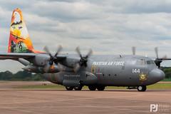 Pakistani Air Force C-130E Hercules 144 (philrdjones) Tags: 144 2016 airtattoo c130e egva ffd fairford hercules july l382 lockheed lockheedmartin pakistan pakistaniairforce riat royalinternationalairtattoo
