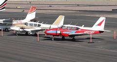 Piper PA-23-250 Aztecs N5038Y N5977Y (ChrisK48) Tags: 1962 1966 aircraft airplane aztec dvt kdvt n5038y n5977y phoenixaz phoenixdeervalleyairport piperpa23250