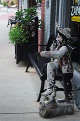 Mexican Statue (ChristianRock) Tags: ga georgia 50mm downtown pentax f14 14 p 50 norcross ricoh ks1 114 rikenon
