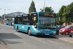 Arriva Mercedes 3001 BJ12YPK - Lichfield (dwb transport photos) Tags: arriva mercedesbenz citaro bus 3001 bj12ypk litchfield