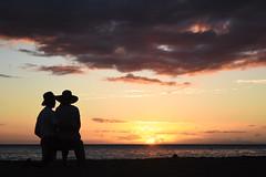 DSC_5167 (meganewens) Tags: maui iao needle sunset kaanapali lahaina hawaii digital black white waterfall