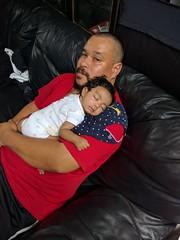 Goddaughter sleeping (tisoy915) Tags: goddaughter nexus6p sleeping uncle baby adorable niece