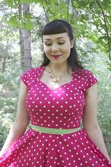 Le Bomb Shop The Soubrette Brunette Giveaway (thesoubrettebrunette) Tags: giveaway soubrette brunette retro polka dot vintage