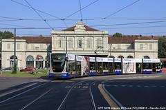 GTT 5039 (Davuz95) Tags: gtt torino tram via viale vittorio emanuele articolato