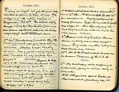 Diary of Robert Wallace p.63 (Community Archives of Belleville & Hastings County) Tags: 1880s 1890s 1900s 1910s 1920s diaries homechildren