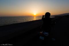 I know. (Masahiko Futami) Tags: ocean sunset sea sky people cloud nature silhouette japan canon landscape 日本 sizuoka 雲 自然 夕日 海 空 人物 風景 シルエット 沼津 静岡県 eos5dmarkiii