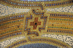 Tiffany mosaic ceiling, Marshall Field's State Street store (V. C. Wald) Tags: macys chicagoloop statestreet chicagoillinois marshallfieldandcompany
