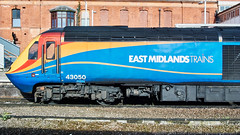 HST 43050 at Leicester, 13th April 2015 (simage61) Tags: train leicestershire leicester railway transportation hst mainline demu class43 43050 englandcentral