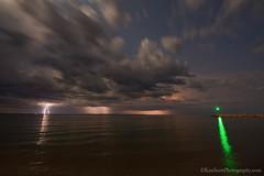 Lake Michigan ... light show (Ken Scott) Tags: usa storm night leland spring michigan may lakemichigan greatlakes crop lightning hdr freshwater voted leelanau 2015 45thparallel manitouislands skystuff vansbeach sbdnl sleepingbeardunenationallakeshore mostbeautifulplaceinamerica