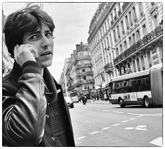 DSF0499 (sergedignazio) Tags: street paris france seine photography photographie femme pont rue nuit quai homme x100s