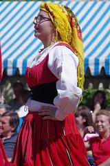 Fête folklorique portugaise