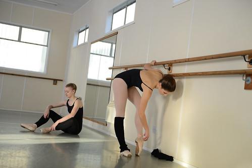 Ballet Dancing Warm Up