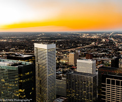 JUICY SUNRISE BLEND (RUSSIANTEXAN) Tags: longexposure tower skyline sunrise photography downtown texas floor sony houston chase 60th russiantexan anvar rx100 khodzhaev svetan rx100m3 sonyrx100m3