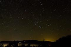 Sternfeldaufnahmen-51 (bernhardwagner76) Tags: sky fog night canon way stars landscape austria galaxy astrophotography 7d orion rigel astronomy milky constellations bellatrix saiph saualpe