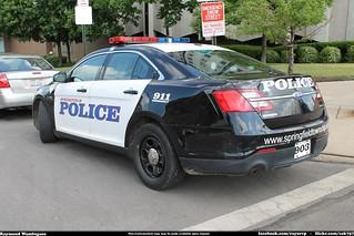 Springfirld Township Police Ford Taurus