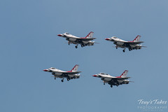 Down and dirty U.S. Air Force Thunderbirds