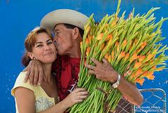 BT_20140211-4767 (brendatharp) Tags: flowers woman man love happy affection joy cuba culture happiness cuban vendors