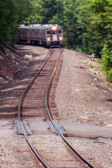 Midday through the Park (Jim R Woods) Tags: road county nj rail 45 v transit warren erie morris comet alp njt