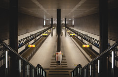 U-Bahn Kingdom (Fake Truth) Tags: berlin germany underground geotagged deutschland metro hauptbahnhof adapter ubahn gps manualfocus ef bowers samyang berlincentralstation rokinon sonya7 samyang3514 commlite utc0 efnex trul16two columbusv990 geodatafrom16062500first50000deletedgpx timeshiftedbyminusonesecondcomparedtooriginalsonya7time samyang3514f315g0037