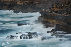 Rugged Cape Solander (sachman75) Tags: ocean sea cliff seascape water coast rocks waves photographer sydney australia nsw newsouthwales coastline drama botanybaynationalpark capesolander canon70200mmf28is leefilters leelittlestopper sonya7rii