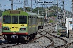 8323+8326+83xx depart Connolly, 19/7/16 (hurricanemk1c) Tags: dublin irish train siemens rail railway trains railways dart irishrail lhb 2016 connolly iarnrd 8323 ireann iarnrdireann class8100 1325brayhowth