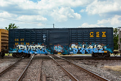 (o texano) Tags: houston texas graffiti trains freights bench benching ever stale hd