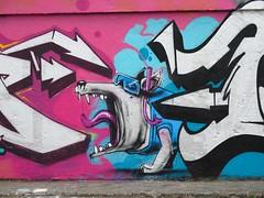 Nantes (Zerbi Hancok) Tags: nantes nantesgraffiti nantesstreetart quaidelaloire quai graffiti graff streetart walls
