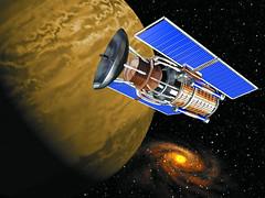 Anglų lietuvių žodynas. Žodis satellite reiškia n 1) satelitas, šalininkas; 2) astr. palydovas; artificial Earth satellite dirbtinis Žemės palydovas lietuviškai.