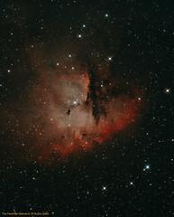 NGC281 - The Packman Nebula (CSky65) Tags: sky outdoor night stars nebula nebulae cassiopeia circumpolar astrominages astrophotography colors packman ngc281 ngc barnard hii orion atlas sbig nebulosity ccdstack photoshop astronomy starrynights eqmod astrometrydotnet:id=nova1683338 astrometrydotnet:status=solved
