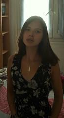 Autoportrait 10 (Chloé Pichouron) Tags: woman selfportrait me myself autoportrait femme young special athome 18yo