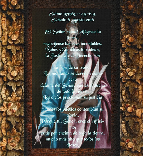 Salmo 97(96),1-2.5-6.9. .(†Dedicado  al P.Cotallo)
