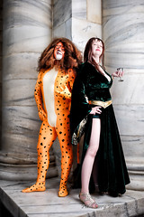 Cheetah and Circe (Paul Cory) Tags: 64inchextremesilverplm 64inchextremesilverplmwithfrontdiffusioncover atlanta availablelight bodypaint buffparaboliclightmodifierplm camera cheetah cheetahlightcl360 circe city citypark colorefexpro4 cosplayer costume dccomics dragoncon dragoncon2015 flashpointstreaklight360 fromcamerajpeg fujicamera fujilens fujifilmxt1 fujifilmxf23mmf14r georgia godoxad360 hardyivypark jessicasmith lens lighting man marblecolumns modifiers morning naturallight niksoftware onlocation people portrait postprocessing radiotrigger sciencefictionconvention season sebastianballesteroscheetah strobe structure summer supervillain timeofday unitedstates woman wonderwomanunverseshoot yn622c camera:make=fujifilm exif:aperture=80 camera:model=xt1 geocity exif:lens=xf23mmf14r geocountry geostate exif:isospeed=200 exif:make=fujifilm exif:focallength=23mm geolocation exif:model=xt1