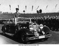 HU002774 (ngao5) Tags: 1andcrowd 1andgroup adolfhitler adults austrians automobile bavaria chancellor dictator europe europeans fascism fascist germans germany governmentofficial leader males men middlefranconia motorvehicle nazi nazism nuremberg passenger people politicalleader prominentpersons rally vehicle whites