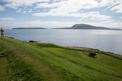 5.5 cm guns (kaszeta) Tags: faroeislands skansin trshavn streymoy fo