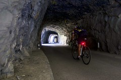 Amazing Series of tunnels (will_cyclist) Tags: cycling derborence switzerland vallais