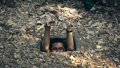 Hide and Seek (Miranda Patricio) Tags: vietnam cuchi tunnels saigon