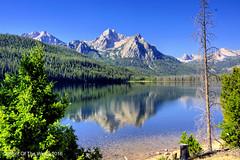 Mt McGown Peak (jimgspokane) Tags: mountains idahostate stanleybasin mtmcgown stanleylake mountainlakes lakes nikonflickraward otw naturewatcher