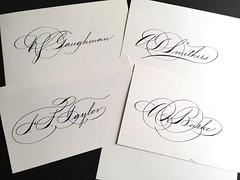 IMG_4491 (xelo garrigs) Tags: caligrafa calligrafia calligraphy pointedpen spencerian penmanship ornamentalscript