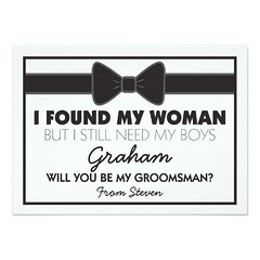 (Groomsmen Wedding Bow Tie Card) #BestMan, #Black, #BlackWhite, #Border, #Bow, #Boy, #Boys, #Bridal, #Brother, #Classic, #ClassicBlackWhiteGroomsman, #Cool, #Duty, #ElegantGroomsmen, #Family, #Friends, #Friendship, #Groomsmen, #JuniorGroomsman, #Man, #Mar (CustomWeddingInvitations) Tags: groomsmen wedding bow tie card bestman black blackwhite border boy boys bridal brother classic classicblackwhitegroomsman cool duty elegantgroomsmen family friends friendship juniorgroomsman man marriage nephew pageboy smart son uncle weddingmanduty weddings white willyoubemy willyoubemygroomsman is available custom unique invitations store httpcustomweddinginvitationsringscakegownsanniversaryreceptionflowersgiftdressesshoesclothingaccessoriesinvitationsbinauralbeatsbrainwaveentrainmentcomgroomsmenweddingbowtiecard weddinginvitation weddinginvitations