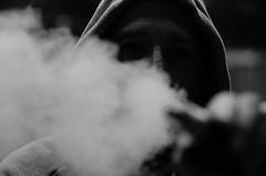 Vaping Is Life (http://richard-m.myportfolio.com/) Tags: vaping vape smoke selfie hoodie male shot portrait nikon d7000 tamron tamron90mm