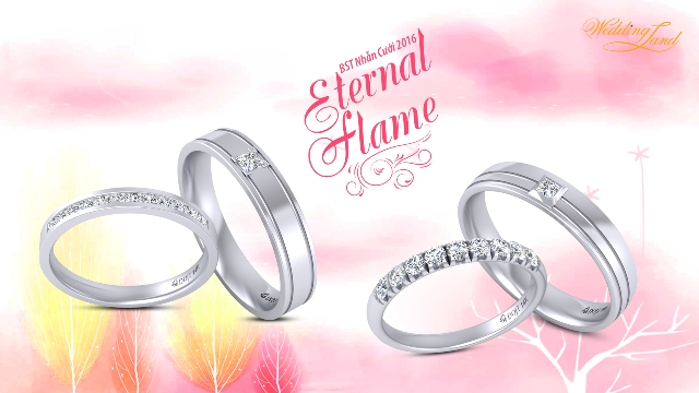 Ngọt ngào quà chúc phúc từ Nhẫn cưới DOJI