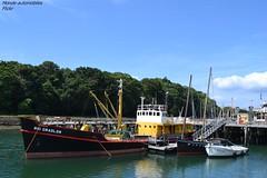 Roi Gradlon (Monde-Auto Passion Photos) Tags: douarmenez france bretagne finistre boat roi gradlon port muse navire service balise baliseur bassin