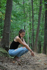 Anna 2 (amandamancusophotography) Tags: a2 camp hideaway woods trees green zoom 2016