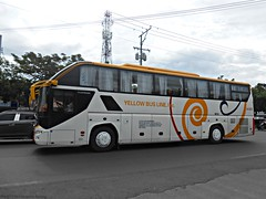 Yellow Bus Line A-003 (Monkey D. Luffy 2) Tags: bus davao city philbes philippine philippines enthusiasts society road vehicles vehicle public transport transportation nikon coolpix higer
