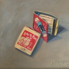 Fun-With-Matches (MaryPargas) Tags: dailypainting
