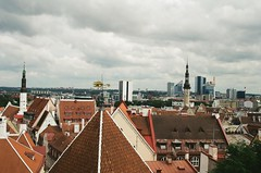 Tallinn (sofarsam) Tags: analog city vacation kodak 35mm europe estonia film filmphotography grace nature nikon summer meloncholy sky lonliness grey