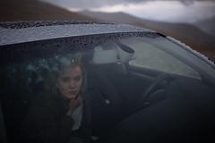 Audrey (Amos H.) Tags: car rocky mountains rain hail audi beauty girl natural light